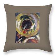 Tuba Fats Throw Pillow