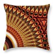 Tuba Vibes Throw Pillow