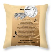 Tuba Why Music T-shirts Posters 4830.02 Throw Pillow