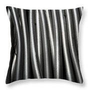 Tubular Abstract Art Number 11 Throw Pillow