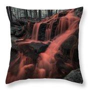 Tucker Brook Falls Ir 1 Throw Pillow