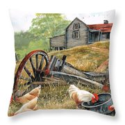 Tucker Time Throw Pillow