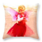 Tucson Angel Throw Pillow