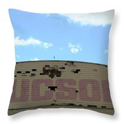 Tucson Hangar Throw Pillow