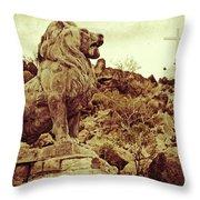 Tucson Lion Throw Pillow