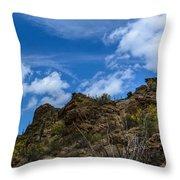 Tucson Mountains Throw Pillow
