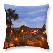 Tucson Skies Throw Pillow