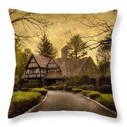 Tudor Estate Throw Pillow