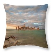Tufa Castles Throw Pillow