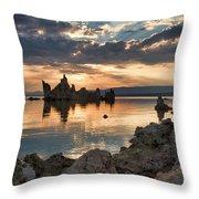 Tufa Sunrise Throw Pillow