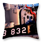 Tug Boat Throw Pillow