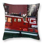 Tug Massachusetts - Chicago Throw Pillow