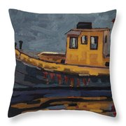 Tug With No-name Throw Pillow