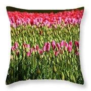 Tulip-1 Throw Pillow