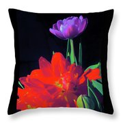 Tulip 15 Throw Pillow