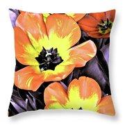 Tulip 16 Throw Pillow