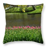Tulip-5 Throw Pillow