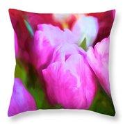 Tulip 58 Throw Pillow