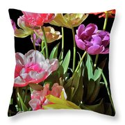 Tulip 8 Throw Pillow