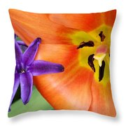 Tulip And Company Throw Pillow