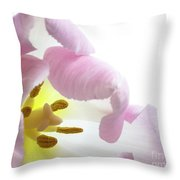 Tulip Bloom Throw Pillow