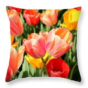 Tulip Crossing Throw Pillow