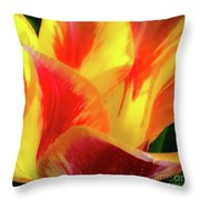 Tulip In Bloom Throw Pillow