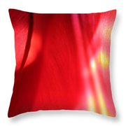 Tulip Mind Throw Pillow