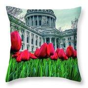 Tulip Row Throw Pillow