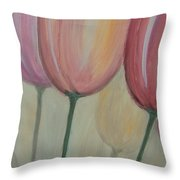 Tulip Series 1 Throw Pillow