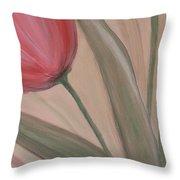 Tulip Series 2 Throw Pillow