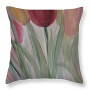 Tulip Series 3 Throw Pillow