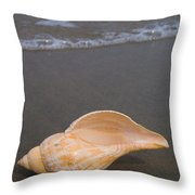 Tulip Shell Throw Pillow