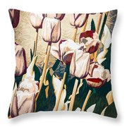 Tulip Sheltered Throw Pillow