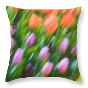 Tulip Swipe Throw Pillow