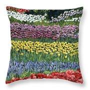 Tulip Tme Throw Pillow
