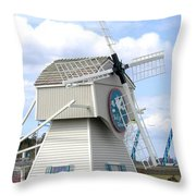 Tulip Town 1 Throw Pillow