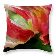 Tulip Wave And Ripple Throw Pillow