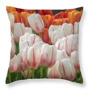 Tulip Wave Throw Pillow
