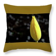 Tulip With Guest Throw Pillow