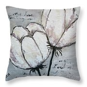 Tulipe Throw Pillow