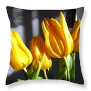Tulipfest 2 Throw Pillow