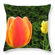 Tulipfest 4 Throw Pillow