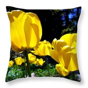 Tulipfest 5 Throw Pillow