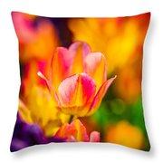 Tulips Enchanting 15 Throw Pillow