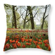 Tulips Everywhere 2 Throw Pillow