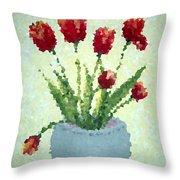 Tulips I  Throw Pillow