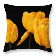 Tulips - Id 16235-220512-0422 Throw Pillow