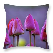 Tullips  Throw Pillow