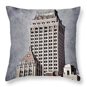 Tulsa Art Deco I Throw Pillow by Tamyra Ayles